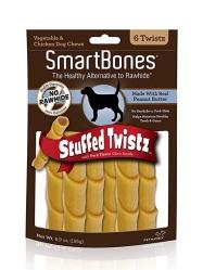 SmartBones.stuffed.peanutbutter.bones
