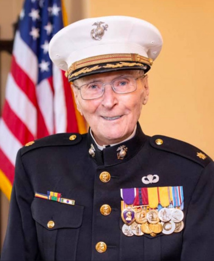 Blog.Major.Bill.White.USMC.Retired.2020.104 yrs old
